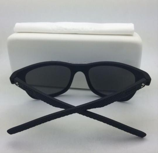 Polaroid POLAROID Sunglasses PLD 7008/N DL5 LM 54-20 Black Rubberized w/ Mirror Image 1