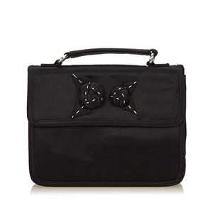 Prada 7dprcl001 Black Clutch