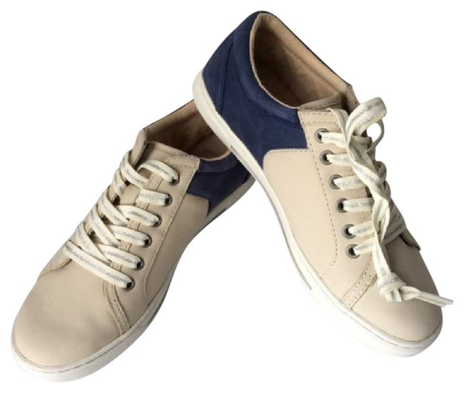 Item - Navy / Sand Two Tone Sneakers Size US 7 Regular (M, B)