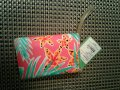 Lilly Pulitzer Wristlet in multi colored, pink, green white Image 8