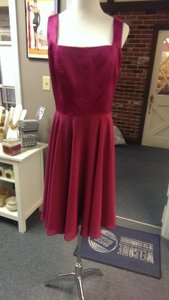 Social Bridesmaids Merlot Social Bridesmaids 8143 Dress