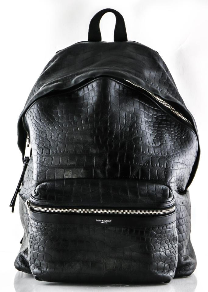 67386b92d3f Saint Laurent Ysl Classic City Yves Backpack Image 11. 123456789101112