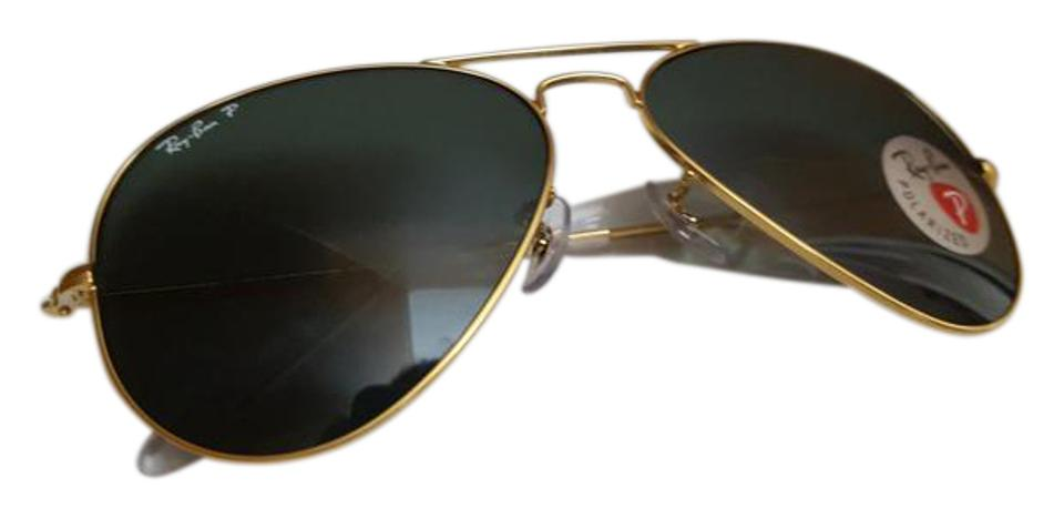 6f0b86bfb Ray-Ban Ray-Ban RB3025 001/58 Gold Aviator Classic Polarized Sunglasses  Image ...