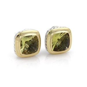 citrine designs drake craiger quartz earrings products cabochon lemon