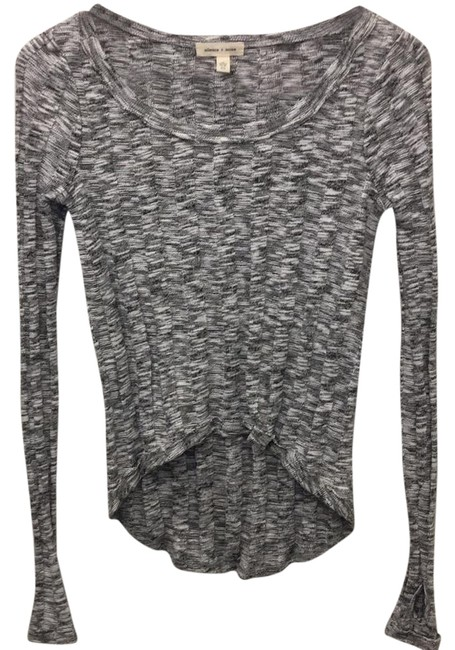 Preload https://img-static.tradesy.com/item/21764865/urban-outfitters-black-and-white-silence-cardigan-size-2-xs-0-1-650-650.jpg