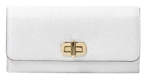 Michael Kors Michael Kors Sullivan Large Leather Wallet white NWT