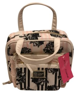 Betsey Johnson pink, white and blue Travel Bag