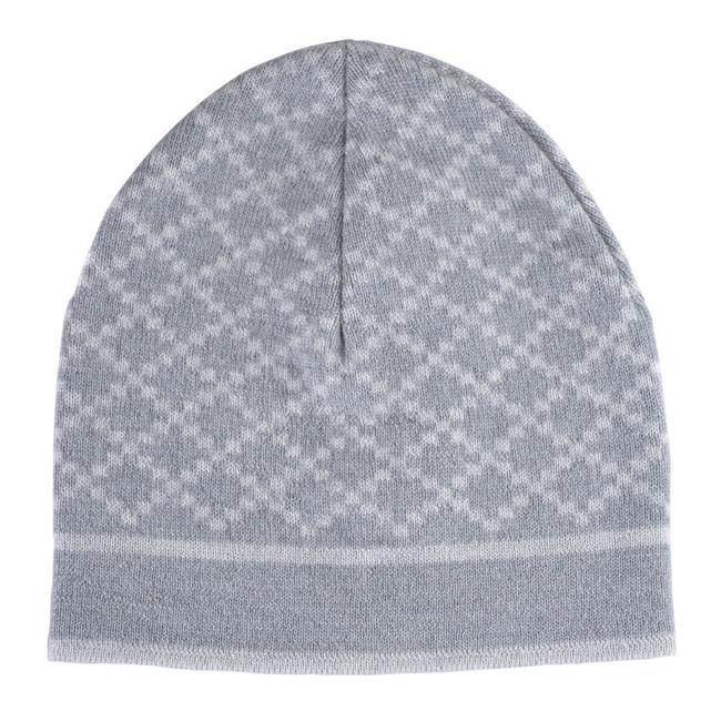 Item - Gray/White Unisex Multi-color Wool Beanie One Size Hat