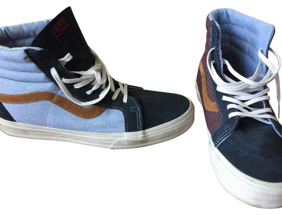 edc88588fa Vans Denim Blue Men s Sk8-hi Reissue Ca Sneakers Size US 10 Regular ...