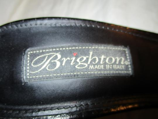 Brighton Leather Croc Slides Hcrr black Sandals Image 7