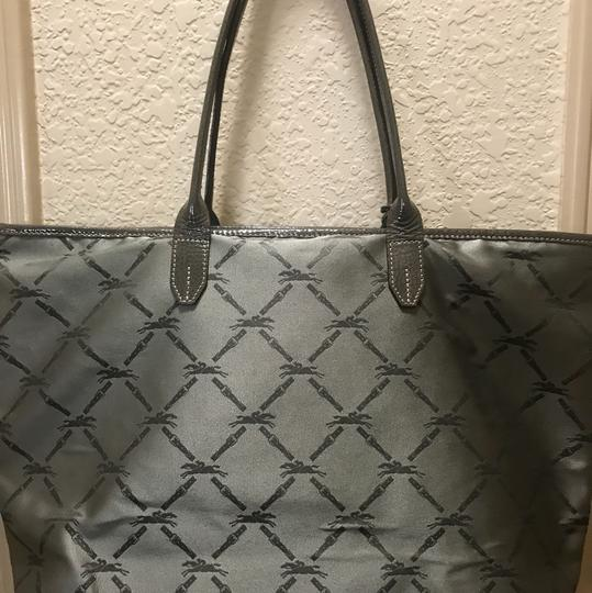 Longchamp Tote in Gray Image 4
