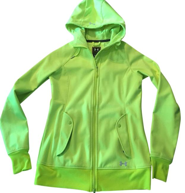 Item - Fluorescent Yellow Cold Gear Infrared Storm Jacket Activewear Size 6 (S)