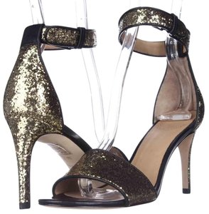 Marc Jacobs Gold Platforms