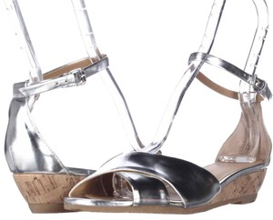 Marc Jacobs Silver Platforms
