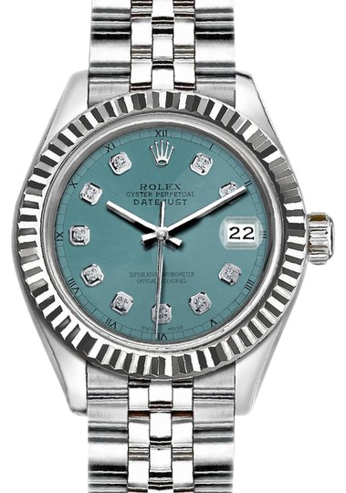 Preload https://img-static.tradesy.com/item/21767067/rolex-silver-and-light-blue-36mm-datejust-with-diamond-dial-watch-0-1-540-540.jpg
