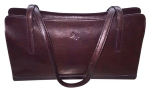 Monsac Original Plum Satchel in Purple