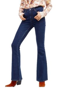 Free People Stretch Denim Classic Design Flattering Flare Leg Jeans