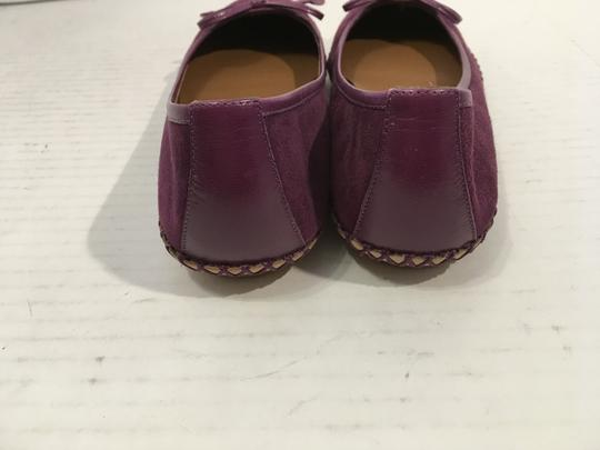 Marc Jacobs REDUCED Deep purple suede all leather whipstitched Flats