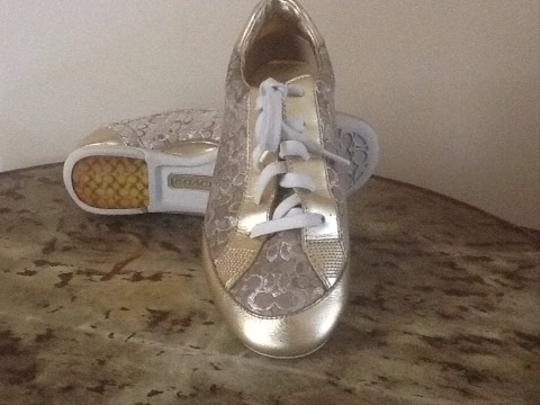 Coach Gold Trim/ Gold And Sliver C Athletic