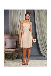 Alfred Angelo Cashmere Signature 7369s Modern Bridesmaid/Mob Dress Size 10 (M)