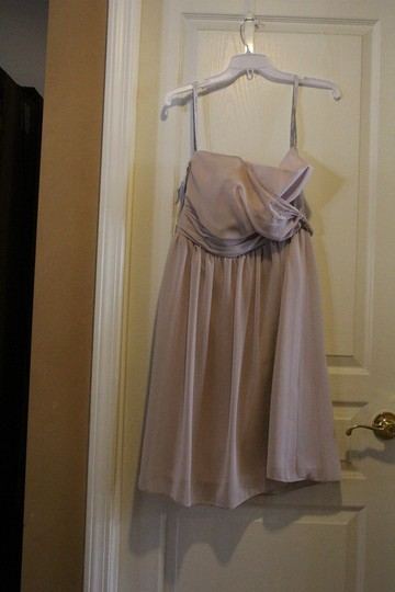 Alfred Angelo Cashmere Signature 7369s Modern Bridesmaid/Mob Dress Size 10 (M) Image 1
