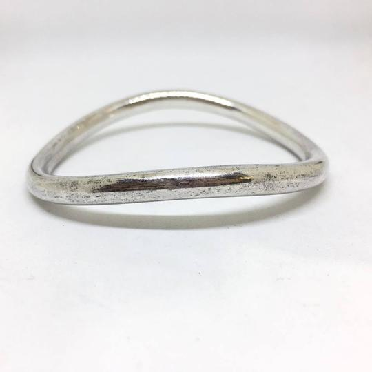 DeWitt's Sterling Silver Wavy Bangle Image 1