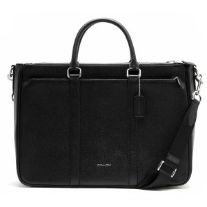 Coach Leather Business Business Brief Exclusive Resistant Laptop Bag