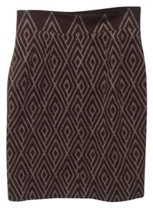 Alex Marie Skirt Brown