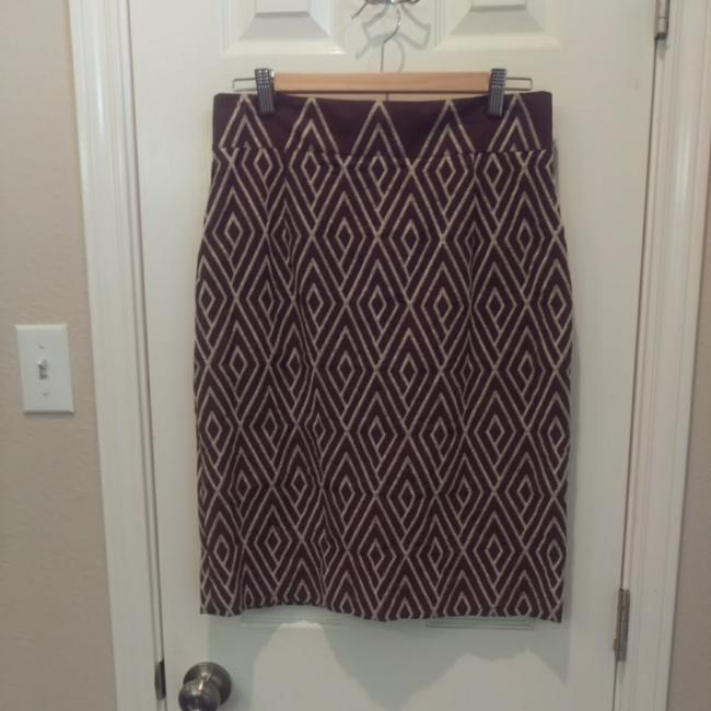 Alex Marie Skirt Brown Image 2