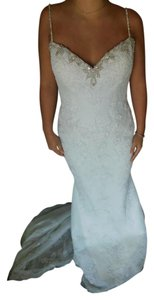 Pronovias Off White Marisela Wedding Dress Size 8 (M)