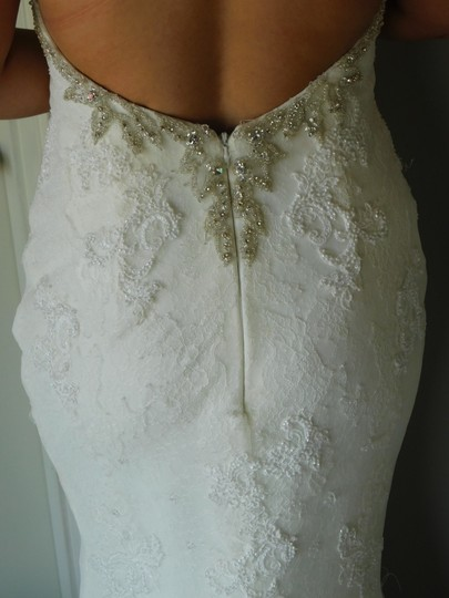 Pronovias Off White Marisela Wedding Dress Size 8 (M) Image 5