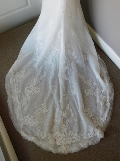 Pronovias Off White Marisela Wedding Dress Size 8 (M) Image 7