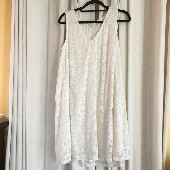 Ella Moss short dress Ivory A Line Embroidered on Tradesy Image 1