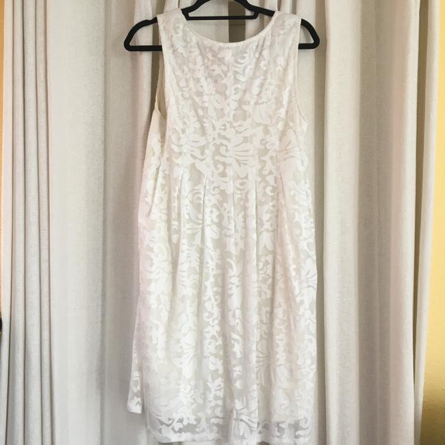 Ella Moss short dress Ivory A Line Embroidered on Tradesy Image 2