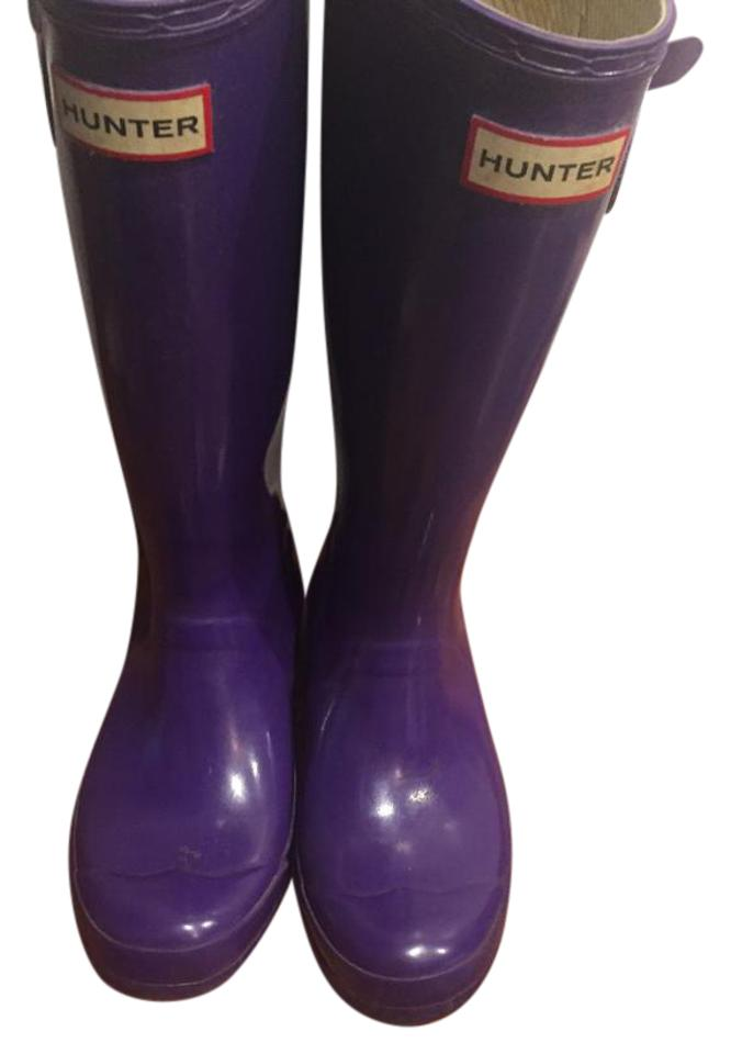 MISS Hunter Purple Gloss of Boots/Booties The first set of Gloss comprehensive specifications for customers ac5f6c