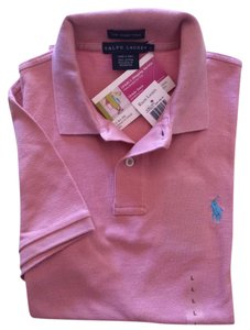 Ralph Lauren Polo Skinny Polo Yellow T Shirt tickled pink