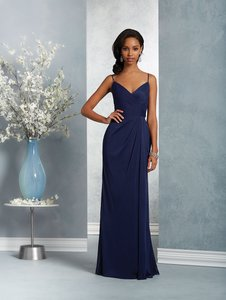 Alfred Angelo Twilight Stretch Mesh 7415 Modern Bridesmaid/Mob Dress Size 6 (S)