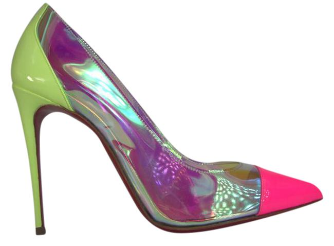 Item - Debout 100 Iridescent Doubout Patent Pumps Size US 7 Narrow (Aa, N)