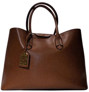 Lauren by Ralph Lauren Shoppers Tate_city_tote Tate_city_shopper Tote in Tan/Cocoa