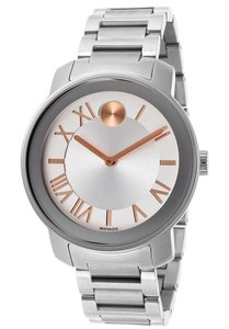 Movado Bold Silver Ladies Watch