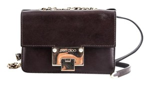 Jimmy Choo Rebel Soft Ebony Shoulder Bag
