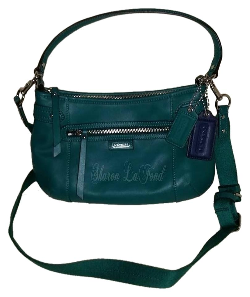 3ba796dc82d Coach Nwot: F23978 Daisy Handbag Green Leather Cross Body Bag - Tradesy