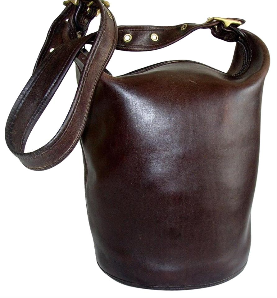 f473f58d4a Coach Reconditioned Duffle  9085 Bucket Mahogany Glove Leather ...