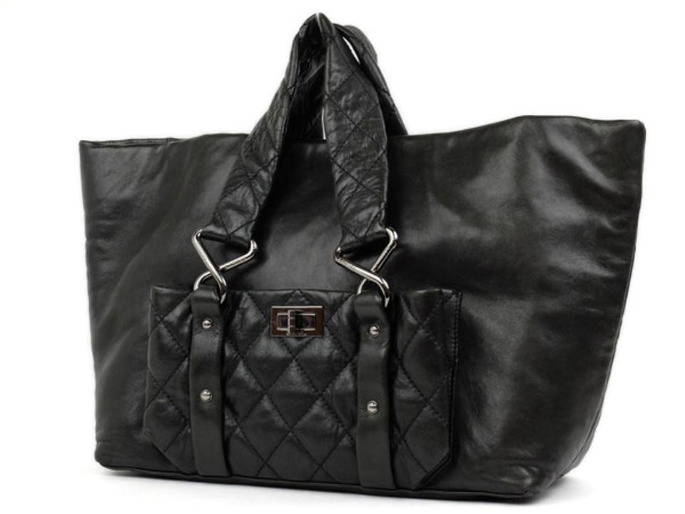 ea4b8bb5709dd Chanel Cocoon Cabas Gst Neverfull Lambskin Tote in Dark green Image 0 ...