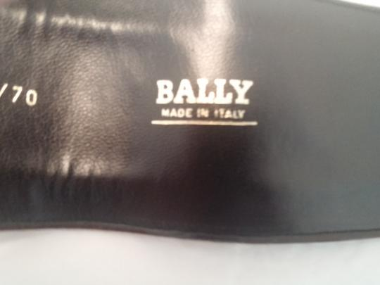 Bally Bally Vintage Suede Leather Belt