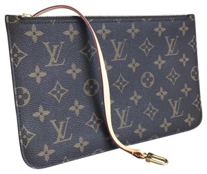 Louis Vuitton Neverfull Neverfull Pouch Pochette Accessories Speedy Wristlet