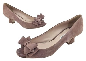 Miu Miu Blush Pumps