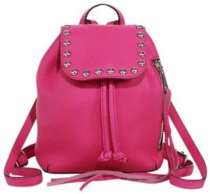 Rebecca Minkoff Almond Micro Leather Backpack
