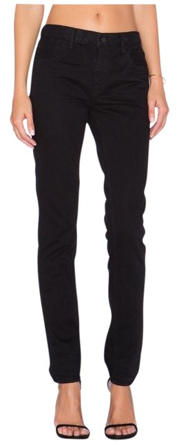 Item - Black Dark Rinse 002 Relaxed Fit Jeans Size 24 (0, XS)