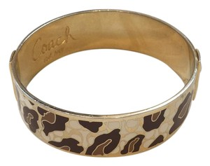 Coach Coach Signature Ocelot Bangle